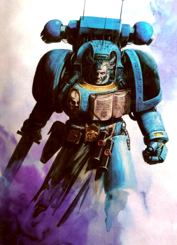Space Marines Librarian from the Warhammer 40k Wiki