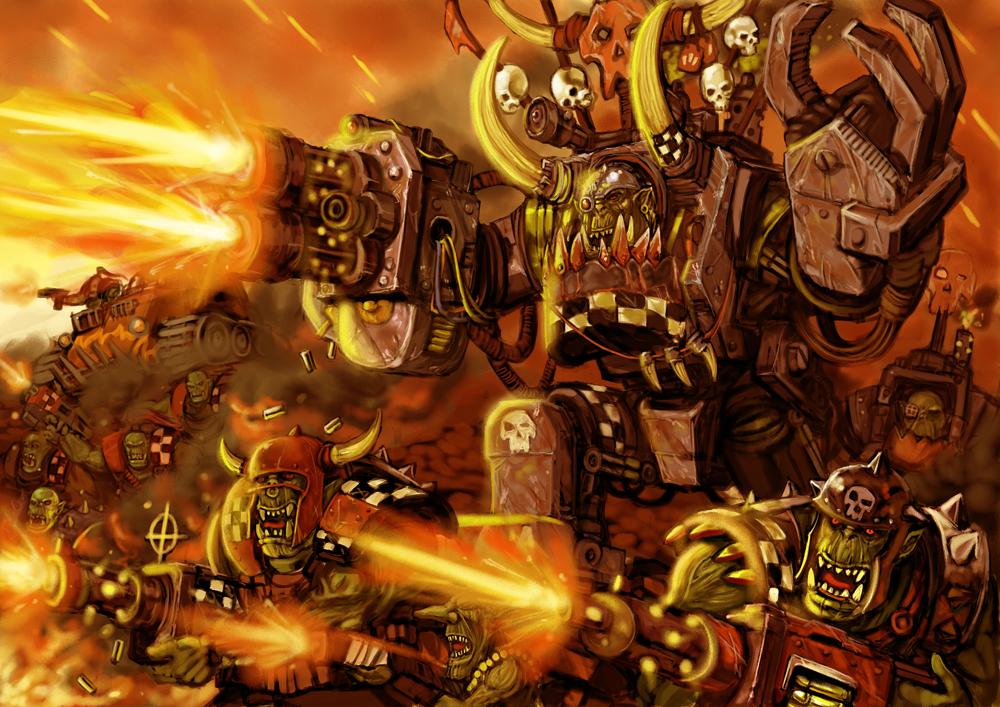 Orks Attack!  Wargh!