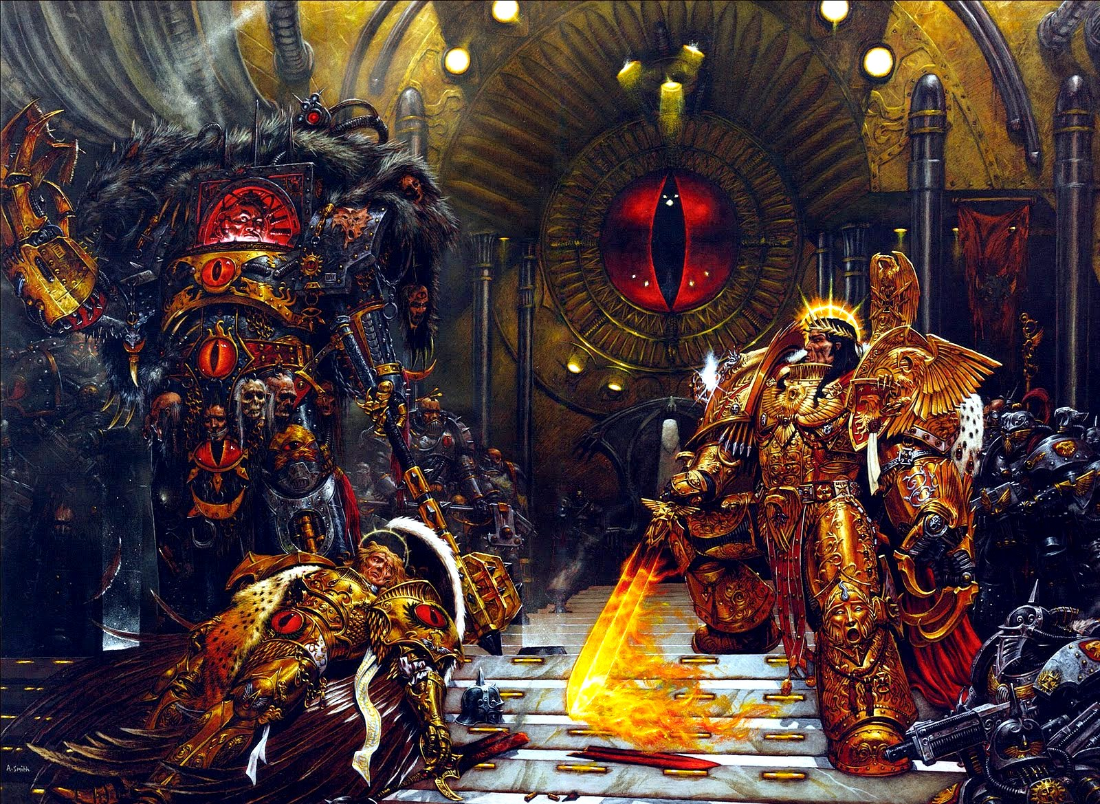 Horus Heresy - Warhammer 40K Wiki - Space Marines, Chaos, planets ...