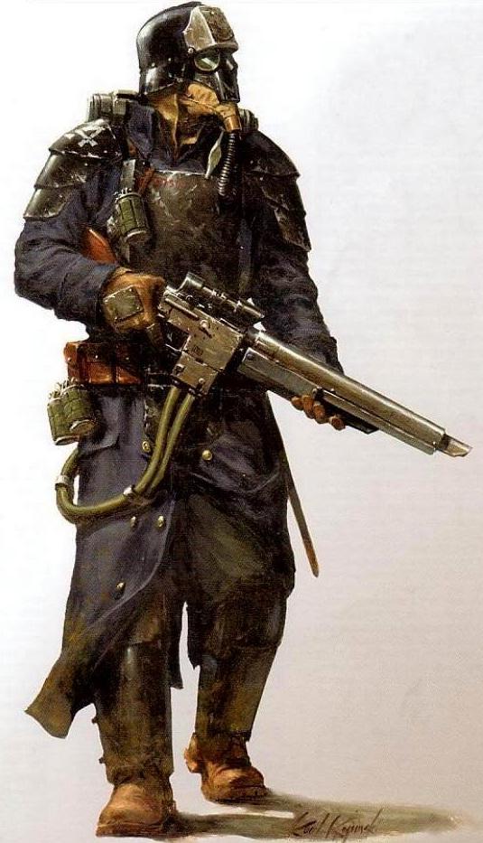 """Alexander """"Seryivolk"""" Karlov, Mercenario de los Tuneles KriegGren"""