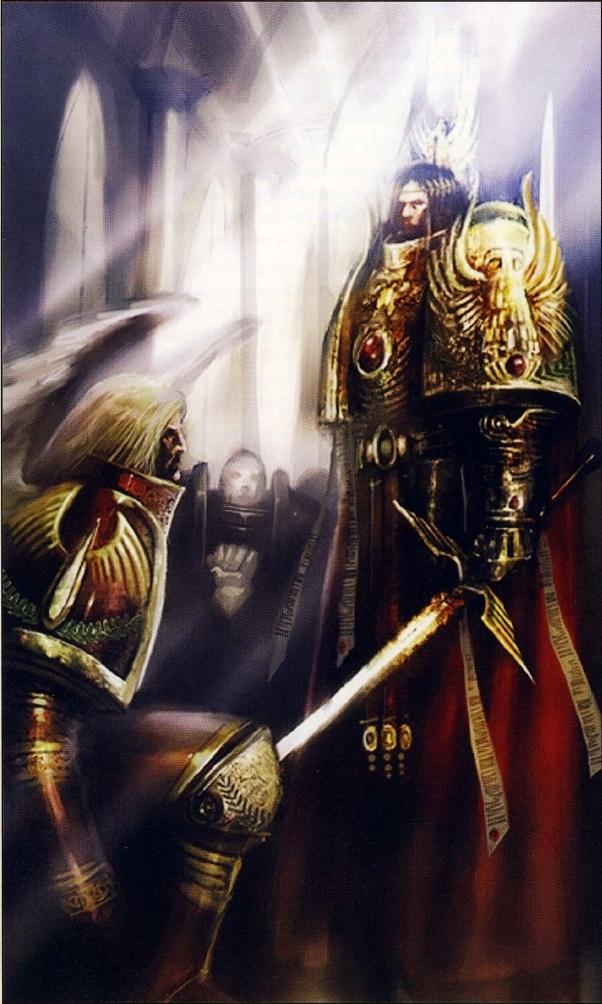 [Horus Heresy] Fanfiction : La Bataille de Terra (Projet et discussions) - Page 3 Sanguinius_&_The_Emperor