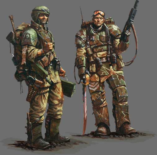 Warriors Of The Dawn Synopsis: Imperial Guard Armour.jpg