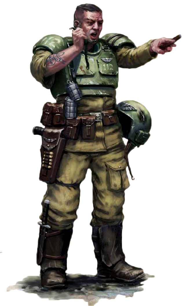 Sergeant from the Warhammer 40k Wiki