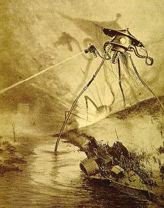 war of the worlds book cover. wallpaper Above: Cover for the