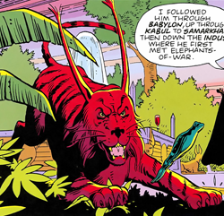Bubastis - Watchmen Wiki - the graphic novel and movie database