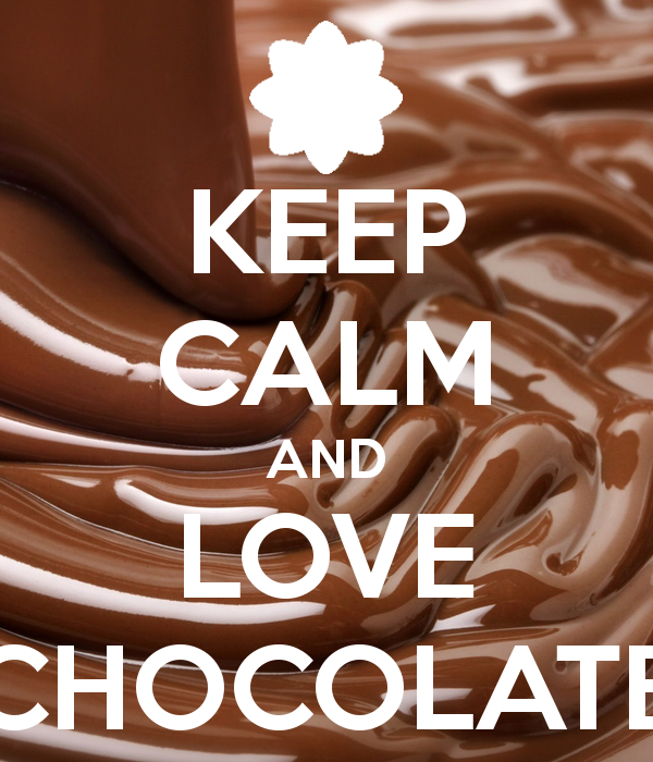 Image - Keep-calm-and-love-chocolate.png - Whatever you ...