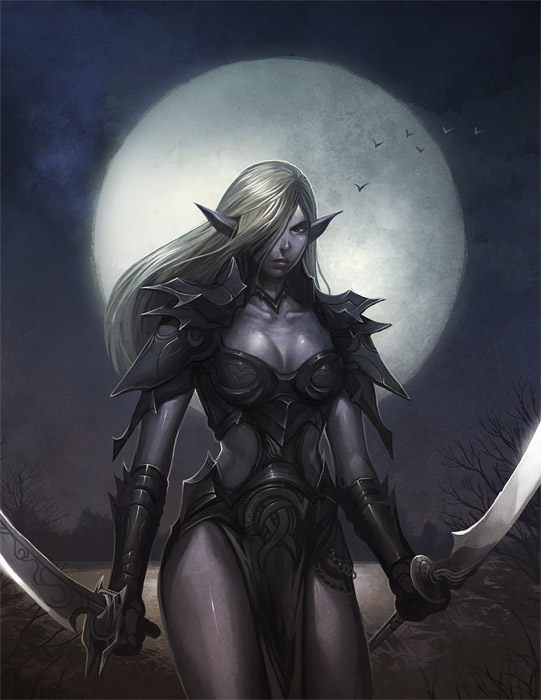 Malfa Hewhy Dark_Elf_woman