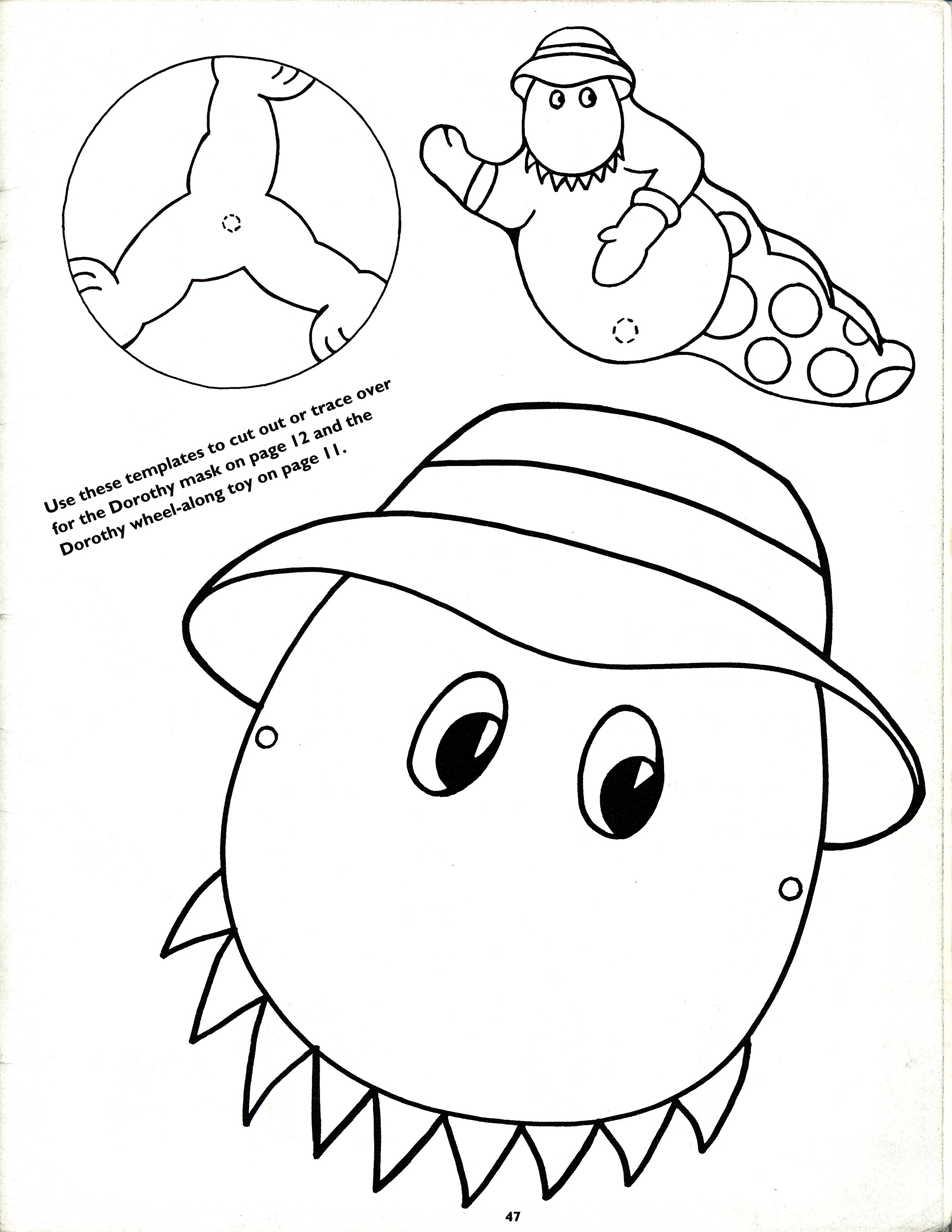 Free The Wiggles Emma Coloring Pages Dorothy The Dinosaur Colouring Pages