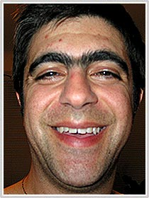 unibrow douche bag 