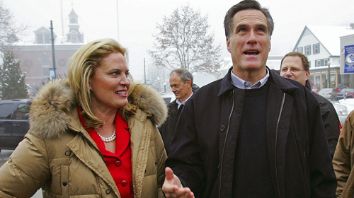 ann romney. The Romneys Campaigning In New