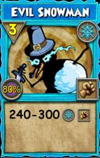 Pet:Evil Snowman - Wizard101 Wiki