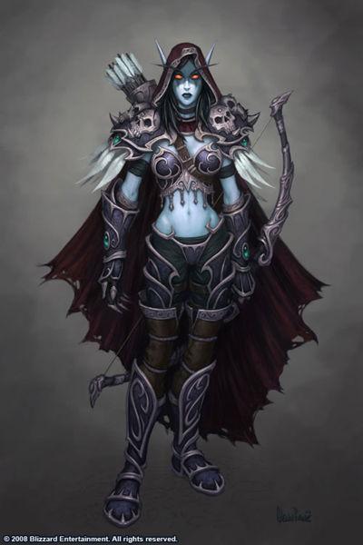 Diablo III 400px-Sylvanas_Windrunner