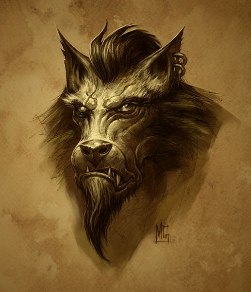 world of warcraft cataclysm logo. Worgen - World of Warcraft