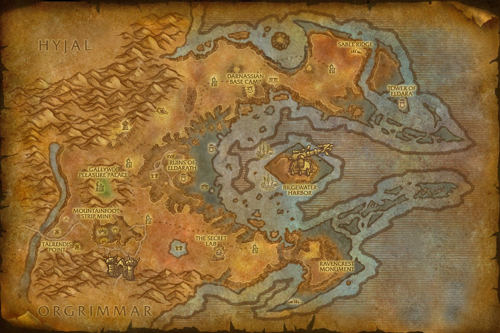 world of warcraft map cata. world of warcraft map cata