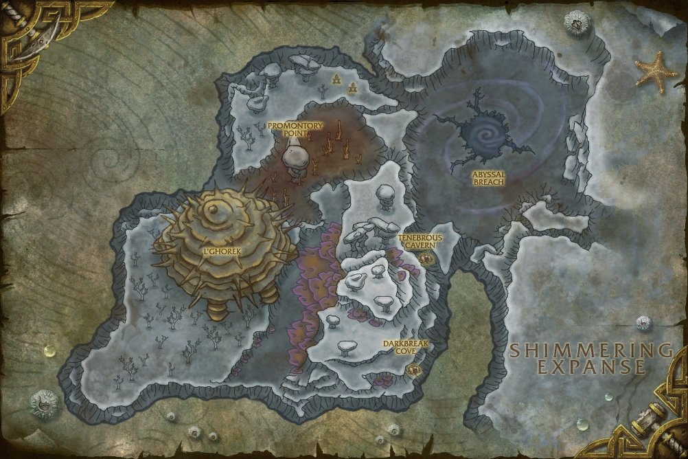 world of warcraft cataclysm map. in World of Warcraft: