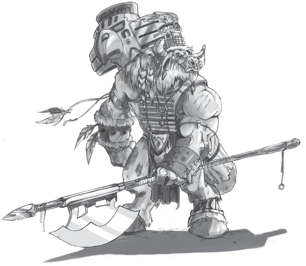 Туарен (Tauren Chieftain), дота