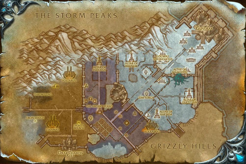 Minería [1-525] WorldMap-ZulDrak