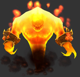 Fire elementals - WoWWiki - Your guide to the World of Warcraft