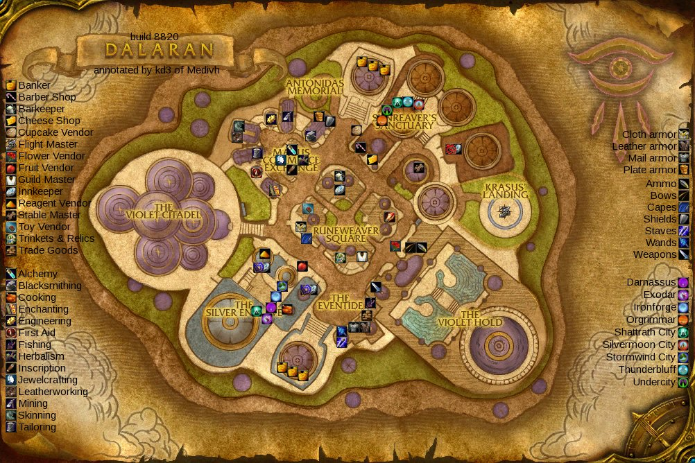 world of warcraft map. 2010 world of warcraft map