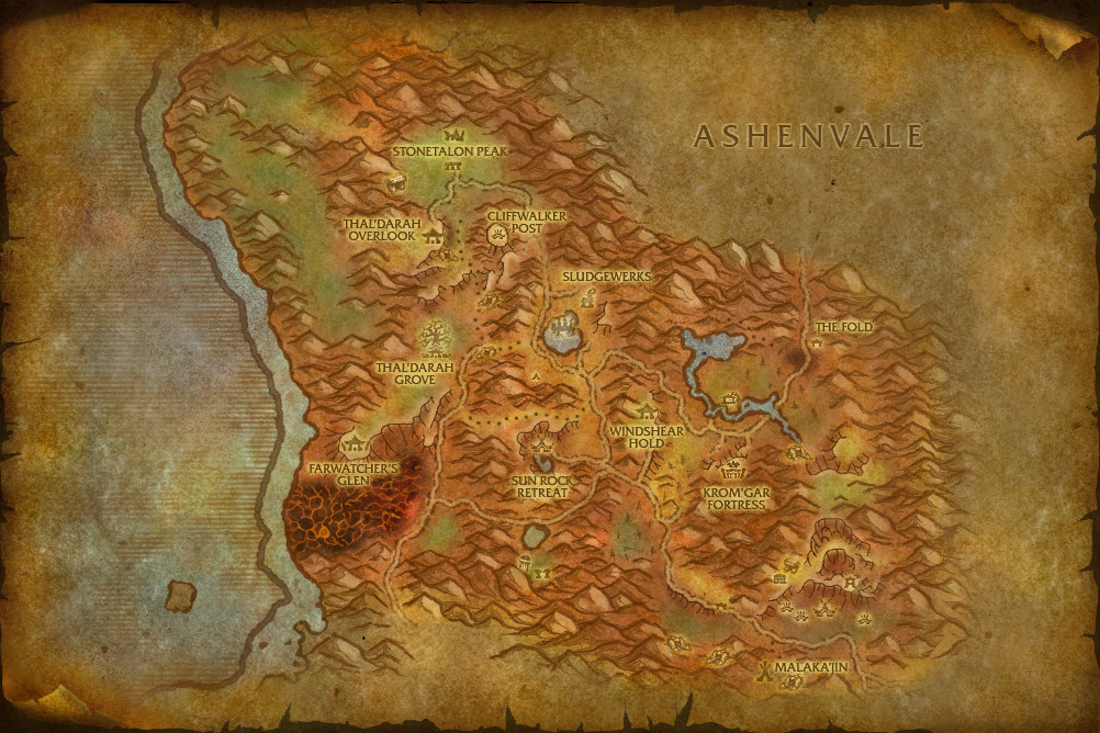 world of warcraft map cata. Cataclysm map comparison