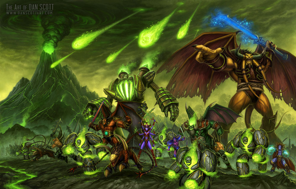 Burning LEGION - WoWWiki - Your guide to the World of Warcraft