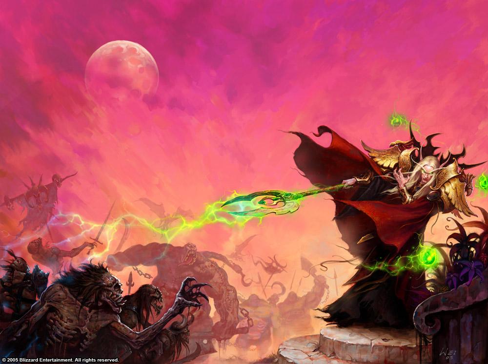 world of warcraft art blood elf. [15] Blood elves reek of fel