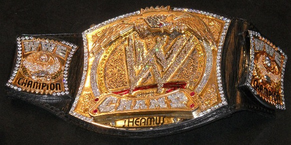 how many title belts have been carriedcreated for any