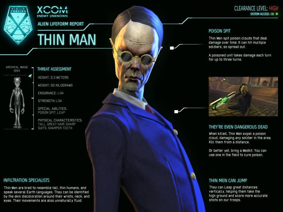 Xcom Enemy Unknown Alien Types Image - XCOM-EU...
