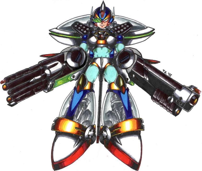 megapost de armaduras de la saga megaman x + yapa
