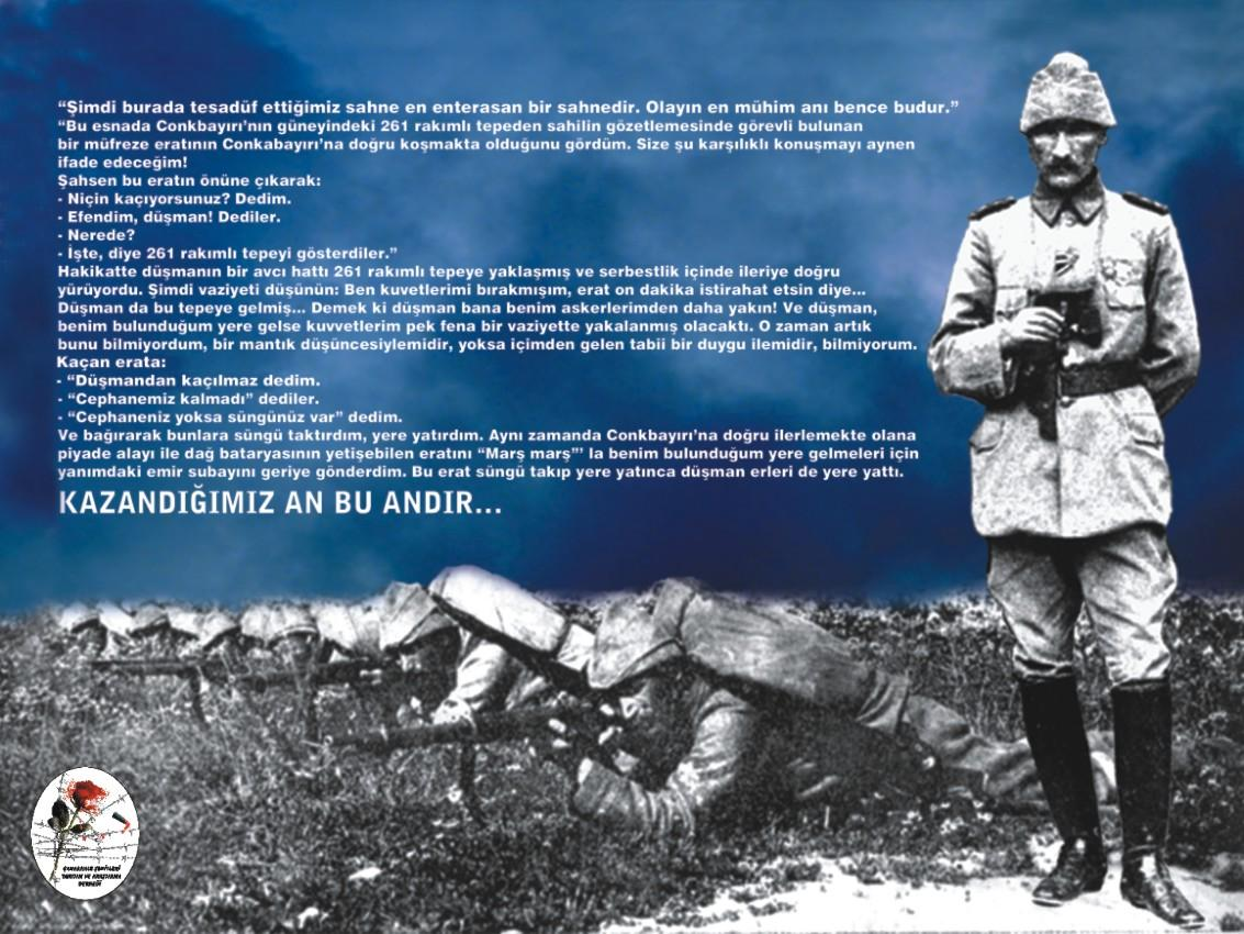 1. D�nya Sava�� �anakkale Cephesi ve Mustafa Kemal