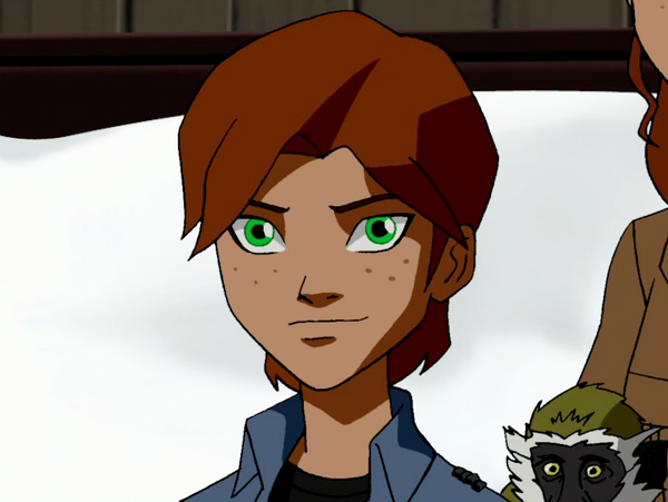 Beast Boy en Young Justice Garfield_Logan