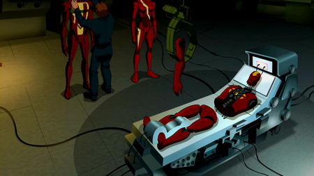 Image - Red Tornado disassembled.png - Young Justice Wiki ...