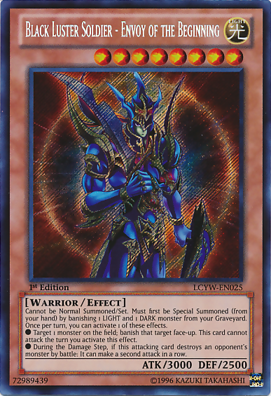 Cards you Wish were Banned BlackLusterSoldierEnvoyoftheBeginning-LCYW-EN-ScR-1E