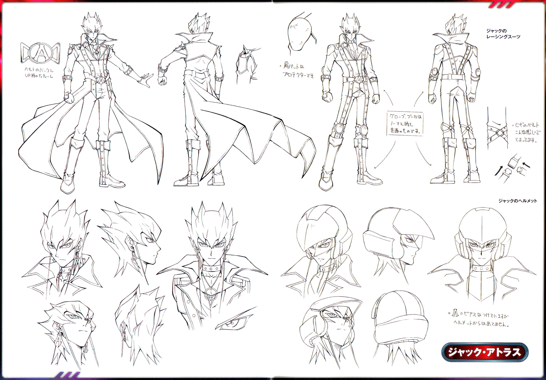 Yugioh Character Design : Yu gi oh d s