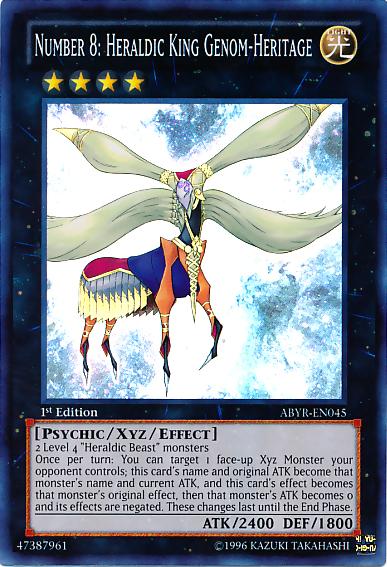 Yu Gi Oh Zexal Number 8