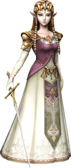 zelda twilight princess. Zelda was the young matriarch