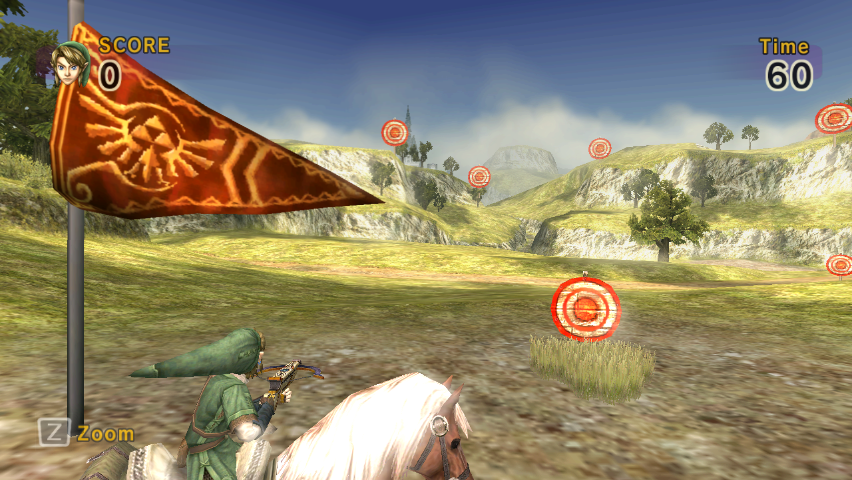 target practice. Horseback Target Practice