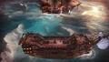 09 AbandonShip Combat Tropical Dusk ShipSinking.png