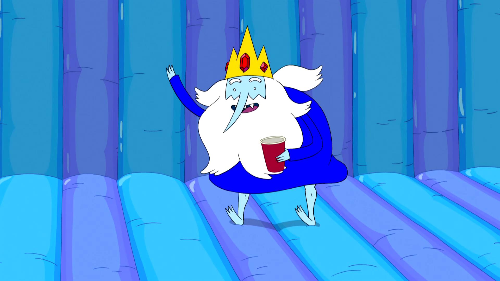 S5e18 Bounce house princess ice king bounce