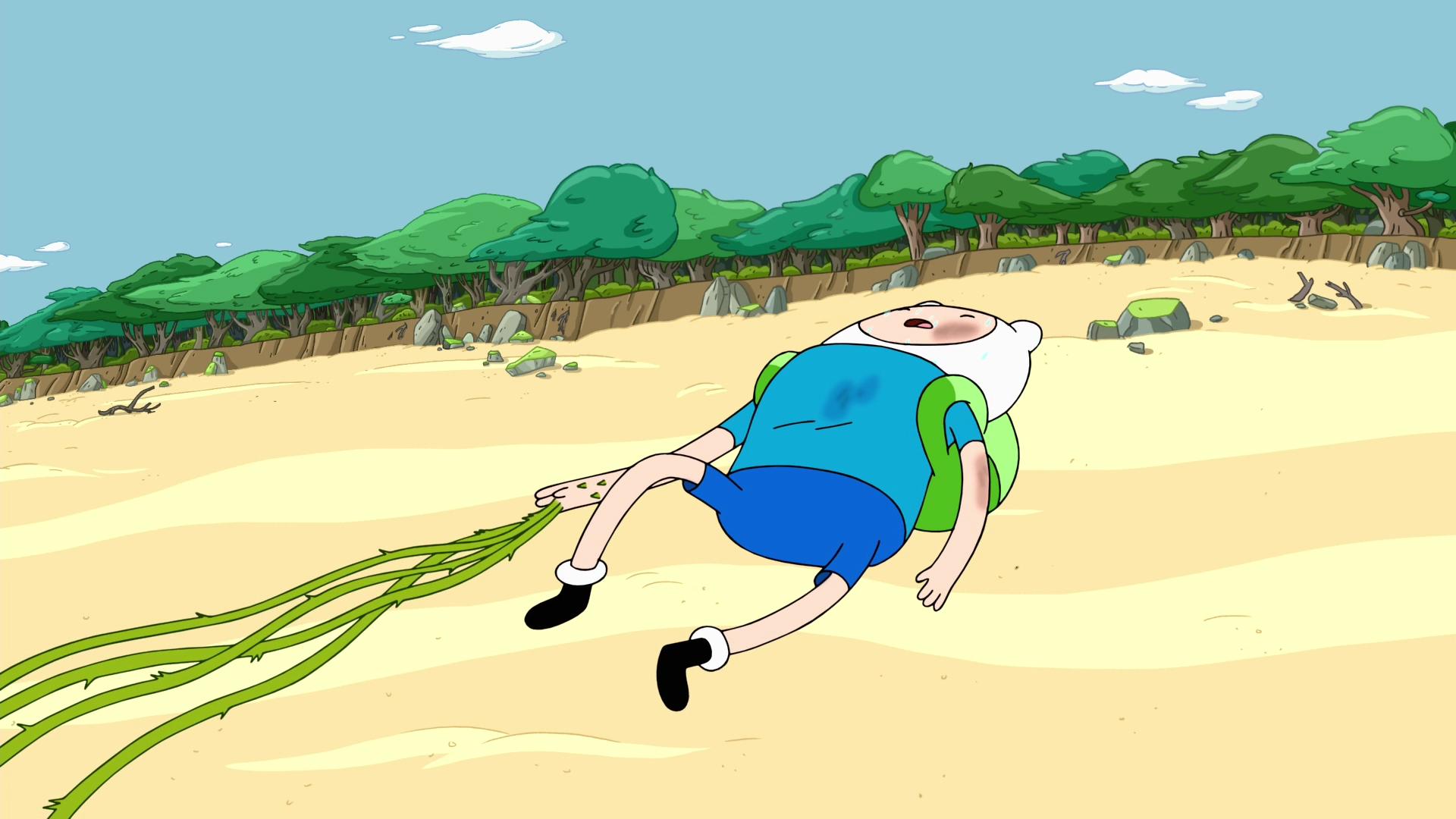 Finn Exhausted