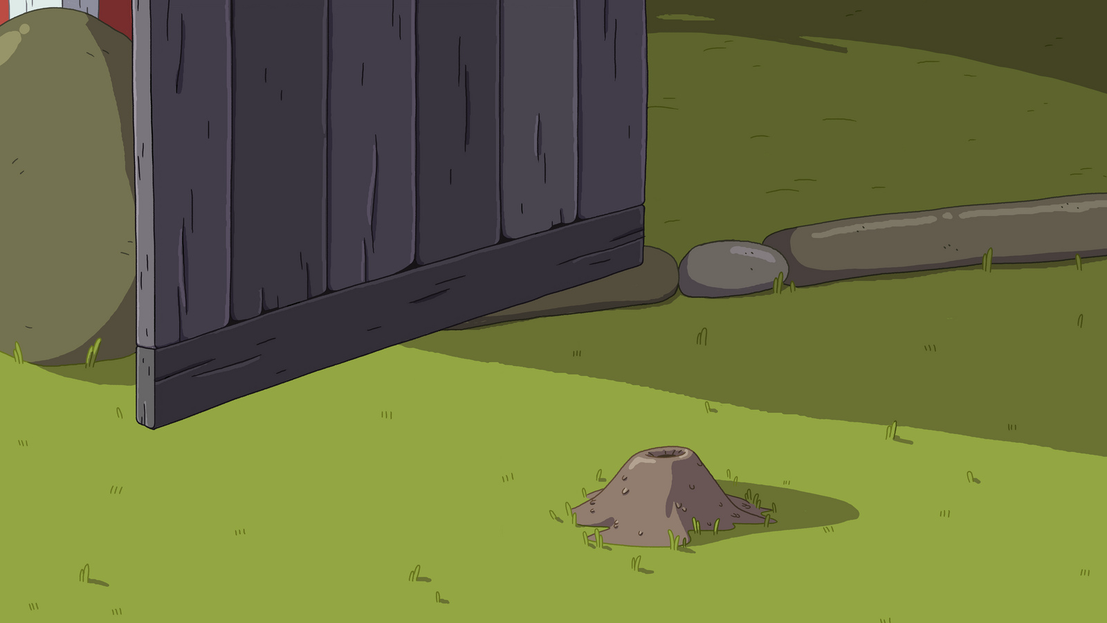 Five More Short Graybles ant hill background