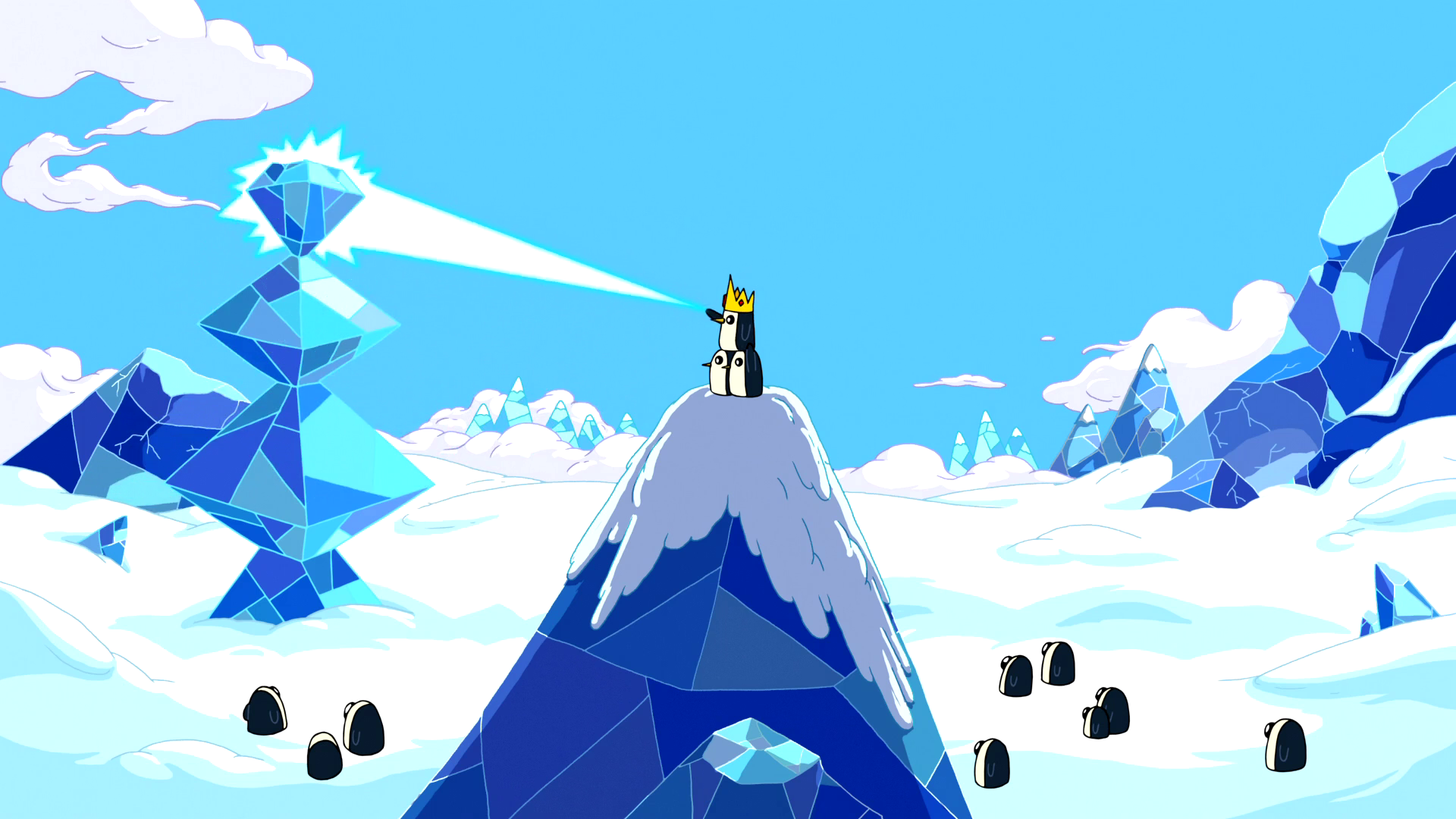 S5e32 Gunter using ice powers