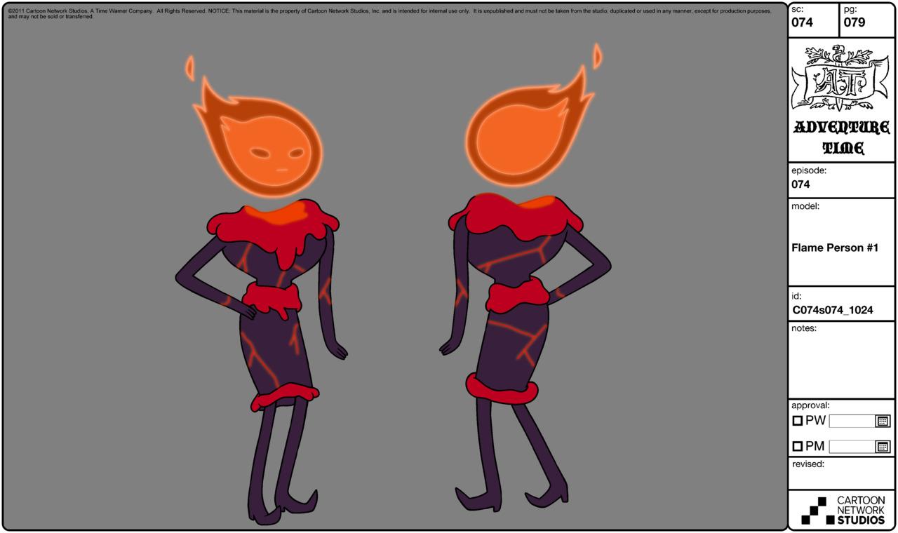 Modelsheet flameperson1