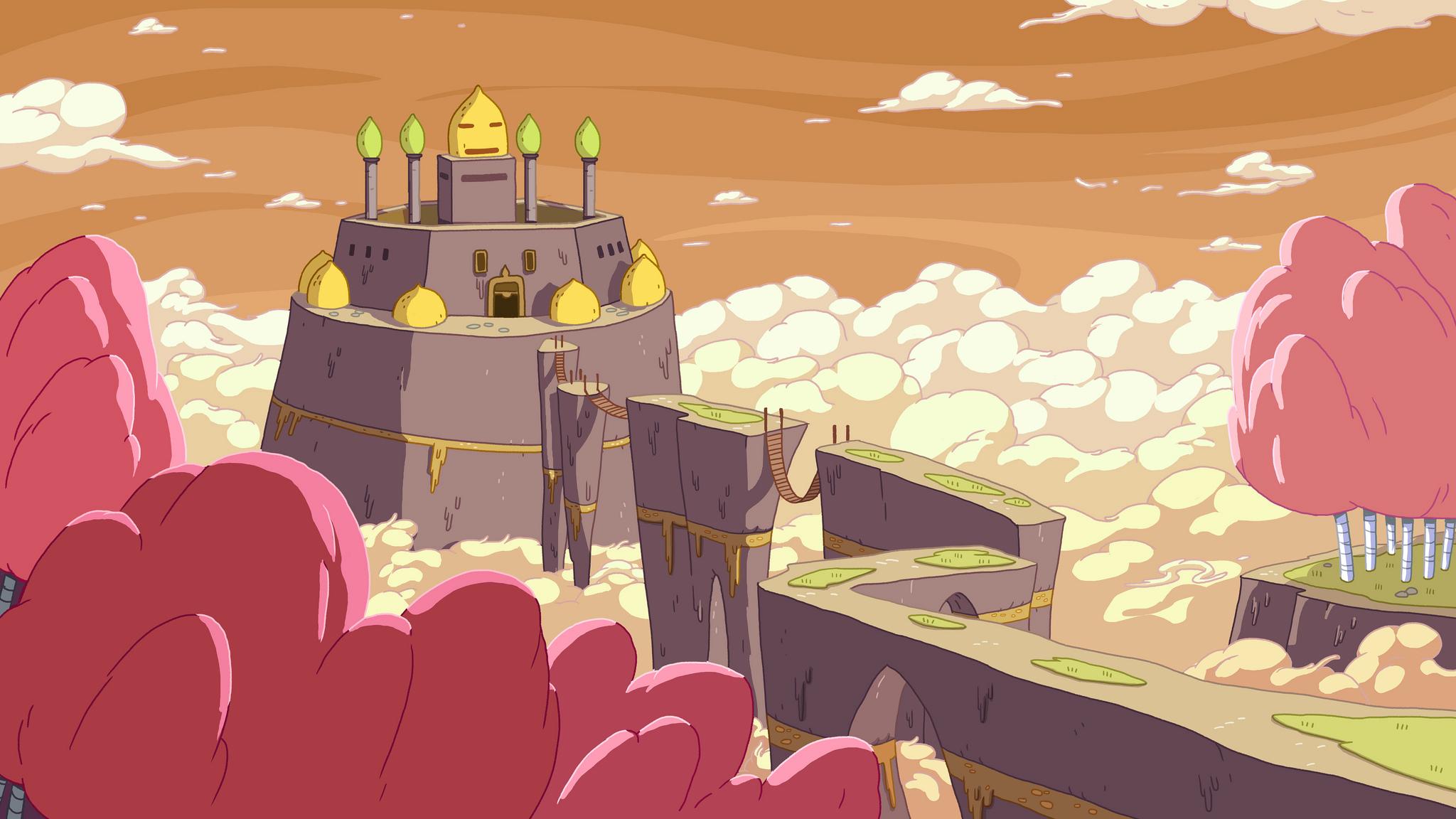 You Made Me! Castle Lemongrab background