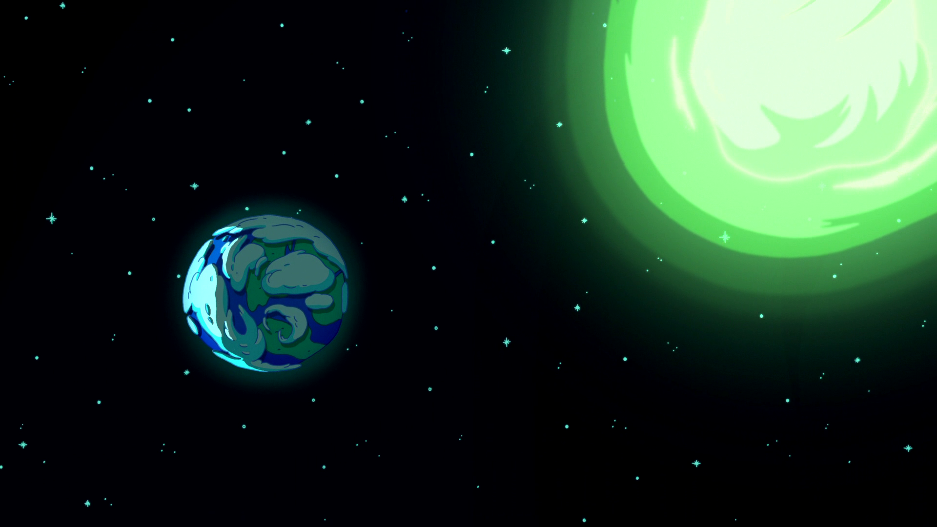 S6e24 Comet approaching Earth