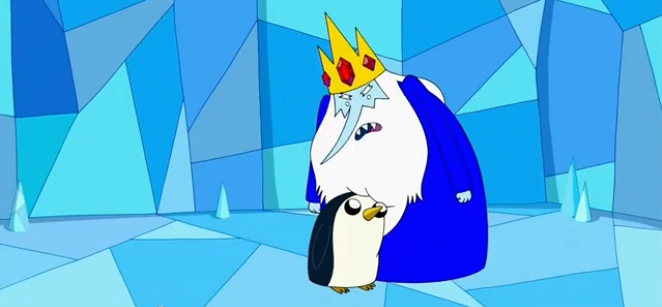 S4 e24 Ice King and Gunter