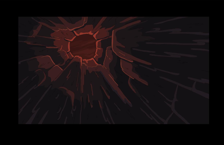 Bg s6e24 inside hollow stalagmite
