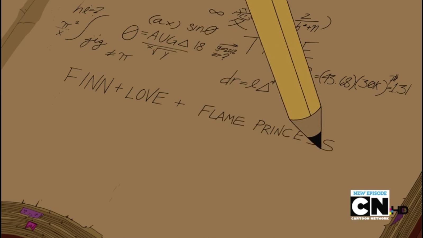 S4e16 PB's diary equations