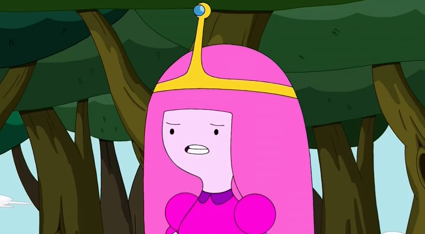 S5 e32 Princess Bubblegum talking to FP