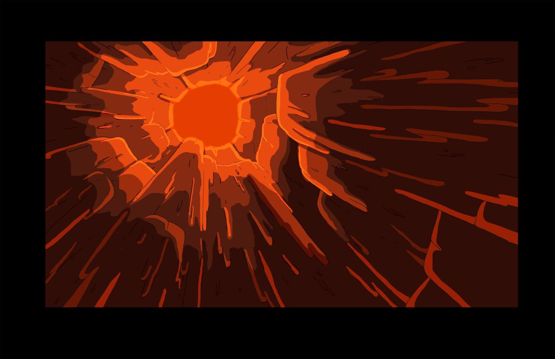 Bg s6e24 inside hollow stalagmite 2